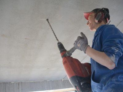 Betonboringen - Boren in beton